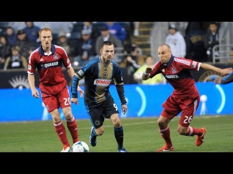 HIGHLIGHTS: Philadelphia Union vs. Chicago Fire | May 18, 2013
