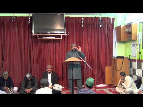 ahmed ali hakim new rubaiyat and maan ki shan by muhammad shazad qadri 24-5-2014 in greece