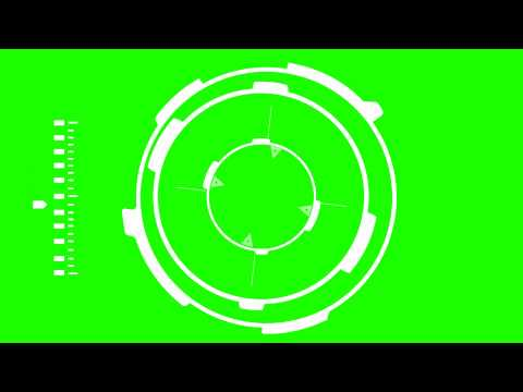 Sci Fi HUD - Green Screen Animation