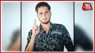 Kashmiri Footballer Who Joined LeT Surrenders To Police - AAJTAKTV