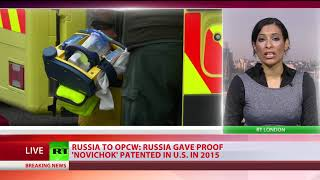 No data on Novichok's country or lab of origin – UK delegation at OPCW - RUSSIATODAY
