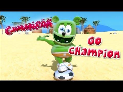 Gummibär gå champion-VM fotball sang fransk gummy bjørn