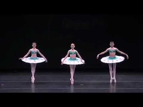 Trio Odalisques, Katia Almayeva, Gillian Fitz, Nina Putlak at YAGP NYC FInals 2011