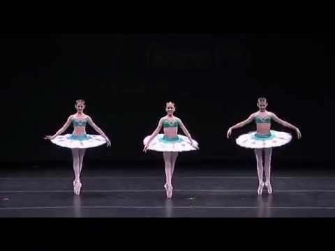 Trio Odalisques, Katia Almayeva, Gillian Fitz, Nina Putlak at YAGP NYC FInals 2011