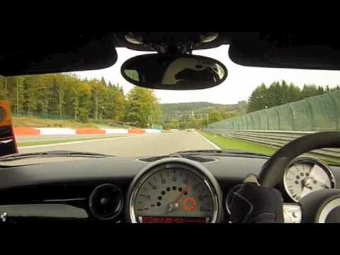 MINI R56 JCW & Caterham at Spa Francorchamps