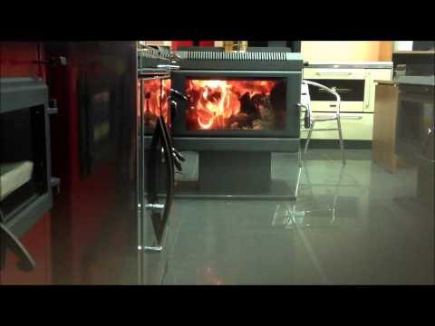 Καύση αερόθερμη τζακόσομπα 3