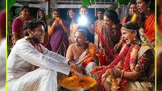 Samantha Prabhu Naga Chaitanya WEDDING LIVE Videos | సమంత, నాగ చైతన్య పెళ్లి సందడి - RAJSHRITELUGU