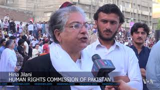 Thousands Gather in Lahore for Pashtun Rights - VOAVIDEO