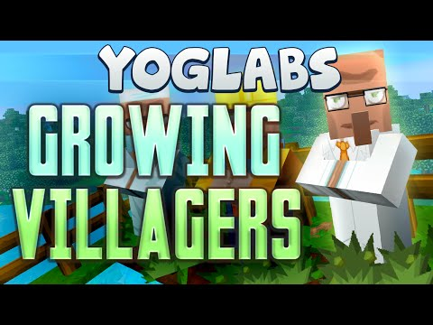 Minecraft Mods - Growing Villagers - Yoglabs