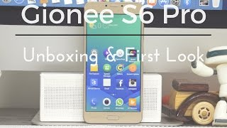Gionee S6 Pro Smartphone Unboxing & First Look - PhoneRadar