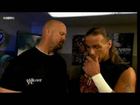 Shawn Michaels Meets Stone Cold Steve Austin