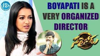 Boyapati Srinu Is A Very Organized Director - Catherine Tresa    Talking Movies with iDream - IDREAMMOVIES