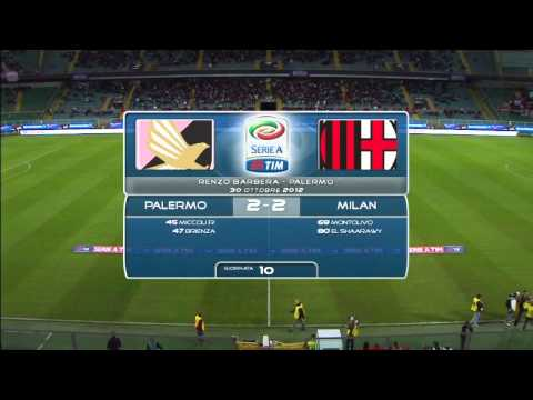 Tutti i Gol del Milan - Stagione 2012/2013 Girone d'andata ITA
