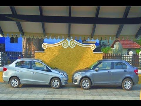 Honda Amaze vs Maruti Dzire