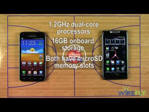 Wirefly Mobile Madness! Final - Samsung Epic 4G Touch vs. Motorola DROID RAZR