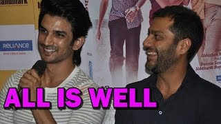 Sushant Singh Rajput and Abhishek Kapoor friends again!! | Bollywood News