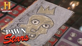 Pawn Stars: The Jean-Michel Basquiat Postcards | History - HISTORYCHANNEL