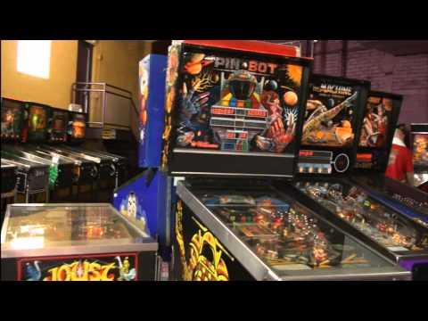 Classic Game Room - PINBURGH 2011 Pinball Tournament Part 1