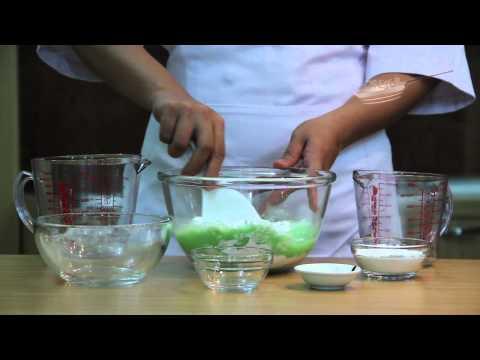Es Pisang Ijo (3/7) - Cara Membuat Adonan