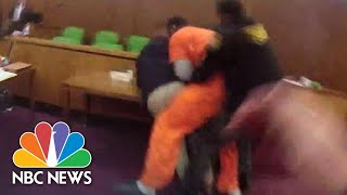 Man Attacks His Attorney In Court After Receiving 47-Year Sentence | NBC News - NBCNEWS