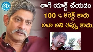 Jagapathi Babu About Consuming Alcohol On Movie Set | Frankly With TNR | Celebrity Buzz With iDream - IDREAMMOVIES