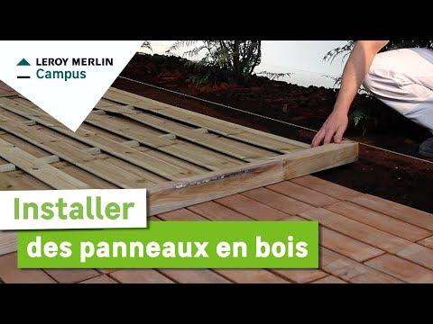 Comment installer des panneaux en bois ? Leroy Merlin