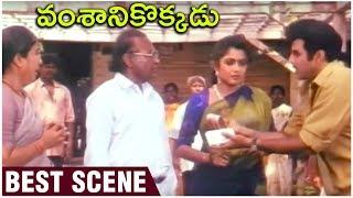 Vamshanikokkadu Movie Best Scene | Balakrishna | Ramya Krishna | Aamani |  Telugu Hit Movies - RAJSHRITELUGU