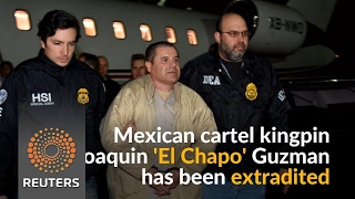 Mexican drug lord 'El Chapo' to appear in New York court on Friday - REUTERSVIDEO