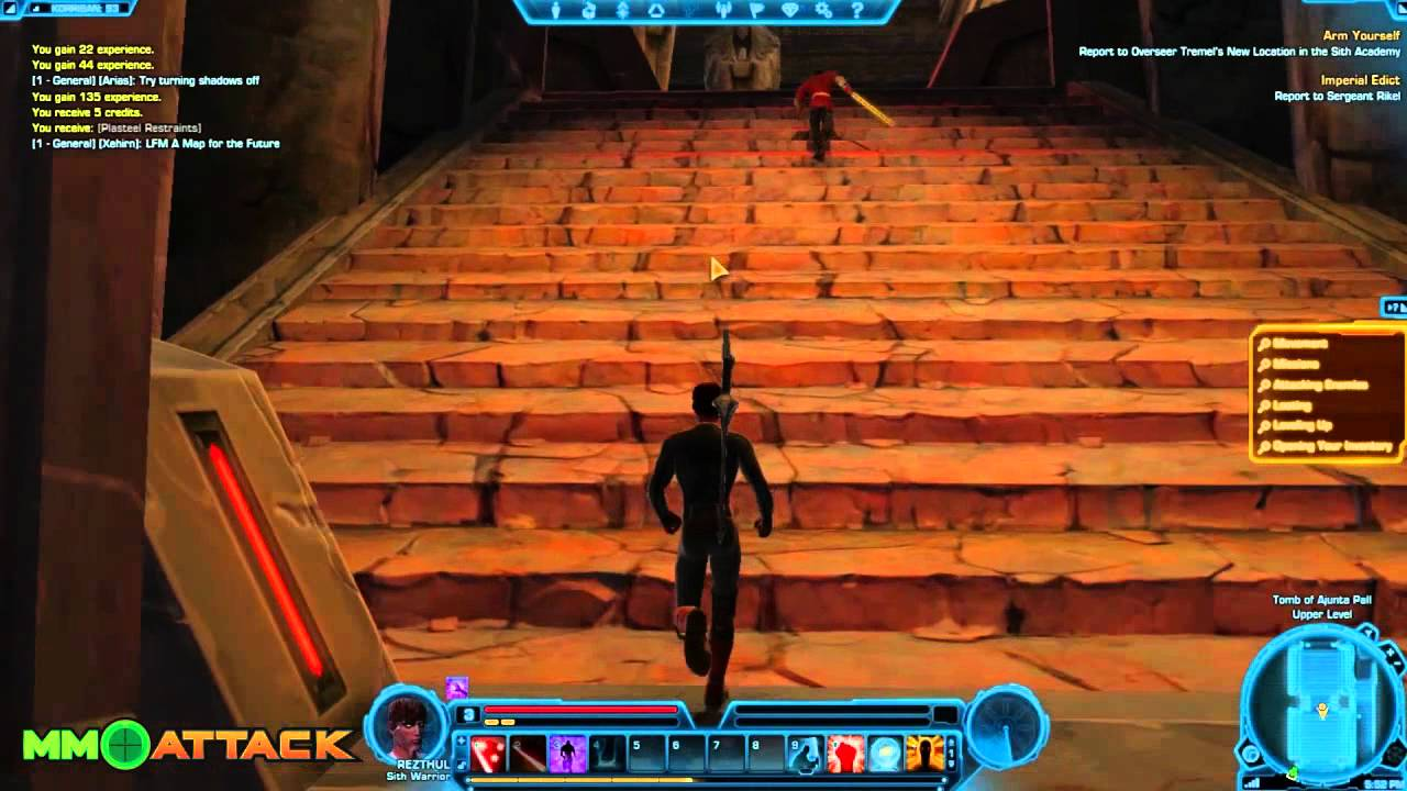 Star Wars: The Old Republic Gameplay part 2