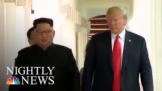 North Korea Still Building Ballistic Missiles, Say U.S. Officials | NBC Nightly News - NBCNEWS