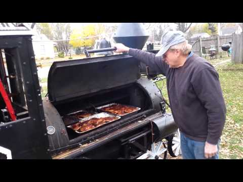 Illinois Slim's Barbeque Smoker Steam Engine Train