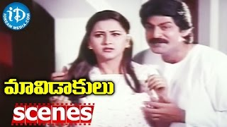 Maavidakulu Movie Scenes - MS Narayana And Jagapathi Babu Hilarious Comedy - IDREAMMOVIES