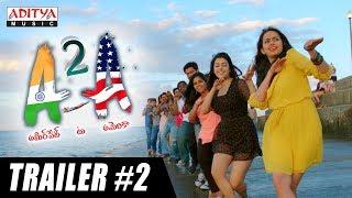 A2A (Ameerpet 2 America) Trailer #2   A2A Telugu Movie   Rammohan Komanduri   Karthik Kodakandla - ADITYAMUSIC