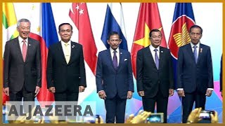 🇸🇬Singapore summit: US-China trade war dominates talks | Al Jazeera English - ALJAZEERAENGLISH