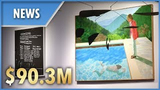Iconic Hockney painting sells for record $90.3million - THESUNNEWSPAPER
