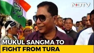 Mukul Sangma, Others In Congress' Third Candidates List For Polls - NDTV