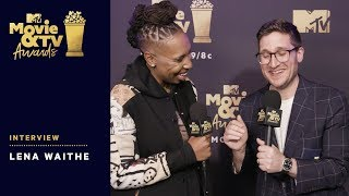 Lena Waithe on Significance of Trailblazer Award | 2018 MTV Movie & TV Awards - MTV