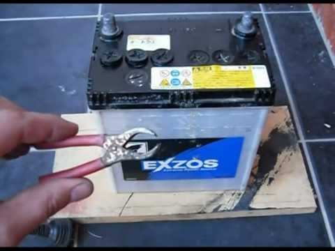How to charge a car Battery -CYdR3NVQk3U