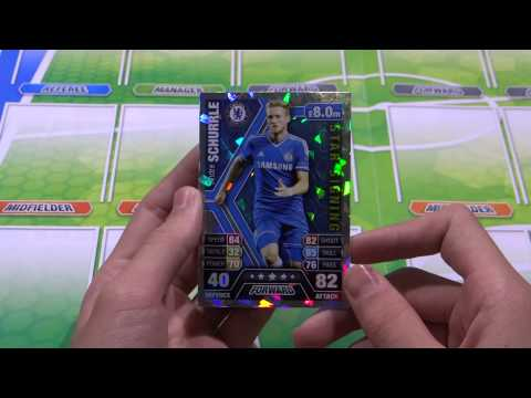 Opening Match Attax 13 14 with Star Signing Stekelenburg and Schurrle