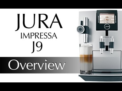 Jura J9 TFT One Touch Cappuccino Centre Preview