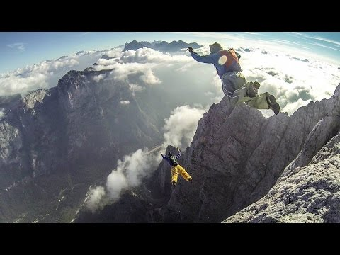 CHASING - (BASE JUMPING) MY TRACKING HIGHLIGHTS OF SUMMER 2016 - Pressurized Tube 4