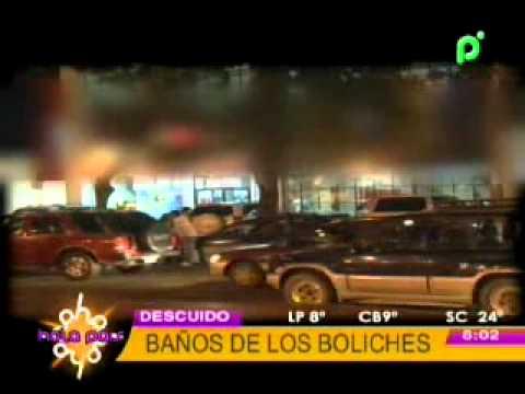 LOS DESCUIDOS EN LOS BAÑOS DE LOS BOLICHES @ HOLA PAIS - BOLIVIA