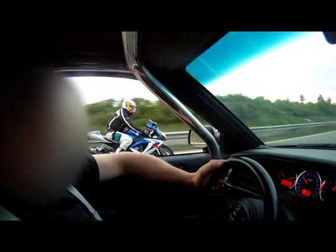 Corrado VR6 Turbo vs. GSX R 600