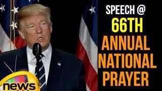 Donald Trump Speech At 66th Annual National Prayer Breakfast | Mango News - MANGONEWS