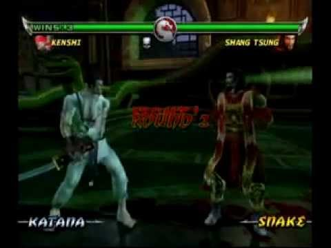 Mortal Kombat Deadly Alliance - Kenshi - 2/2