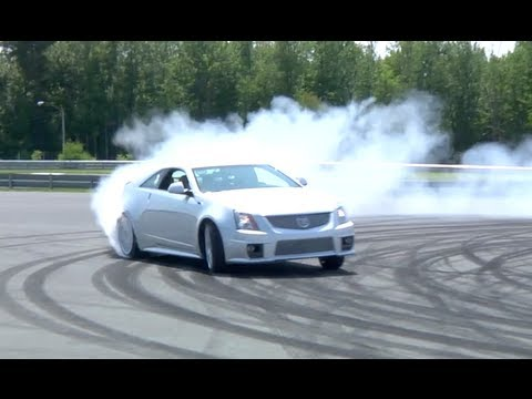 Matt Farah: CTS-V G-Load Test - 2012 /DRIVE Host Competition