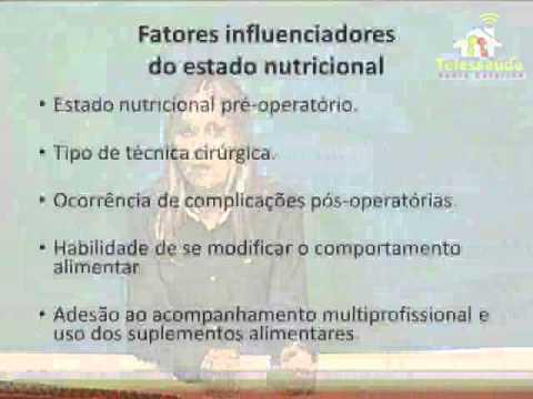 Webconferência sobre Nutrição e cirurgia bariátrica