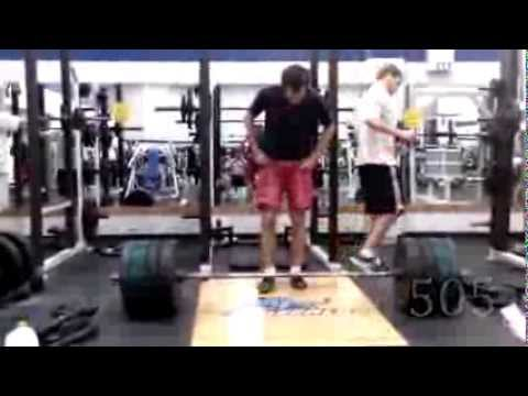 Deadlift 505 @ 168 (3x bodyweight) - 11.04.13