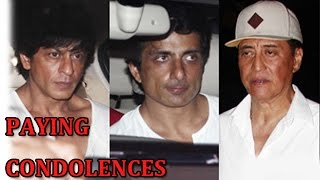 Shahrukh Khan, Sonu Sood and other Bollywood stars at Danny Denzongpa's manager funeral