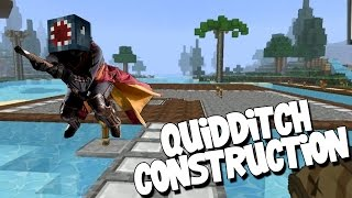 watch the youtube video Minecraft - Attack Of The B Team - Quidditch Construction! [45]